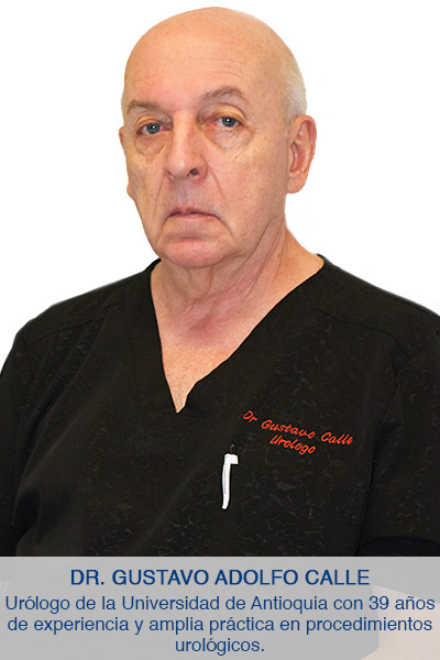 Gustavo Adolfo Calle Urologo